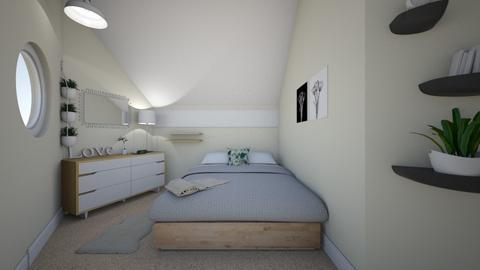 Atticc Room - Bedroom - by lovedae_parfait