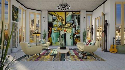 Design 426 Matisse in Paris - Living room - by Daisy320