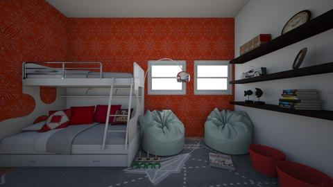 Small Bedroom 23 - Modern - Bedroom - by XiraFizade