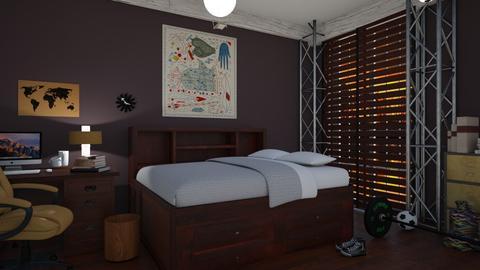 TEEN - Bedroom - by renowkas78