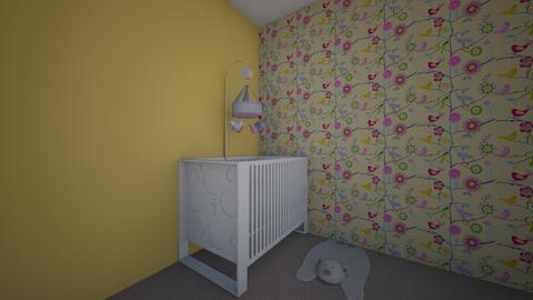 girl nursery  - Kids room - by elizabethharloff