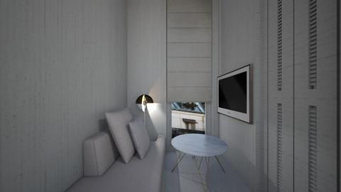 Casa169LivingArea - Minimal - Living room - by nickynunes