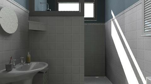 fuga com shrek - Vintage - Bathroom - by Maria_Julia