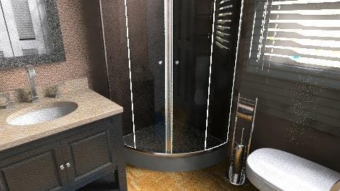 flat 9 - Rustic - Bathroom - by sally89