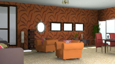 lounge.diner - Rustic - Living room - by SarahLou