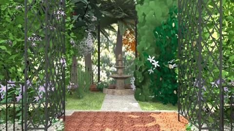 Old Westbury Gardens - Vintage - by facundo