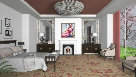 Dior - Eclectic - Bedroom - by Theadora