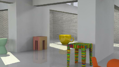 New 3D stools - by consider this design
