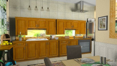 New kitchen - Classic - Kitchen - by milyca8