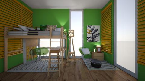 Small Bedroom 14 - Modern - Bedroom - by XiraFizade