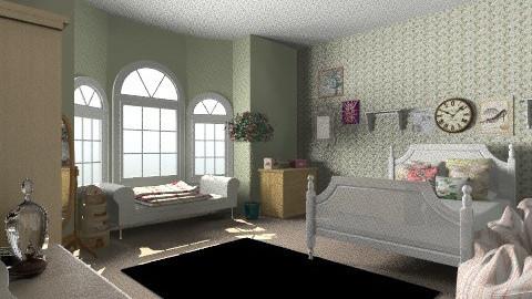 katies room - Classic - Bedroom - by kayleighsteel