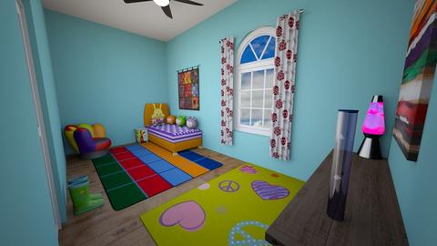 90s kids room - Retro - Kids room - by muleok