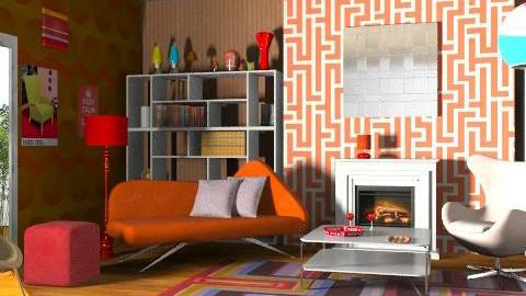 Mimi. - Retro - Living room - by Calolynn