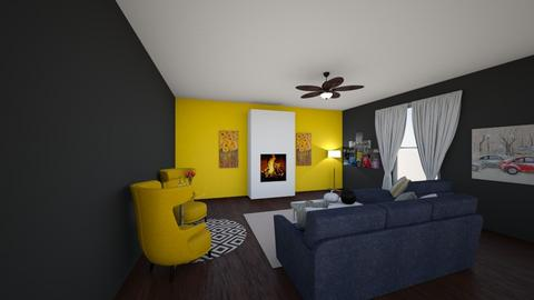 Living room and bed room - Living room - by jaidyncalvert