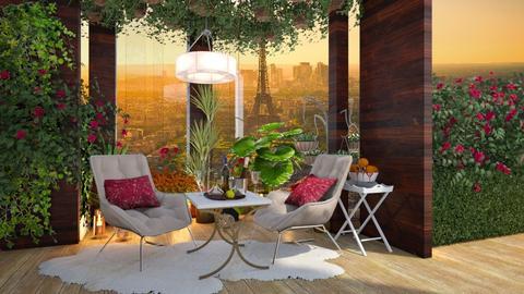 Balcony - by NikolinaB26