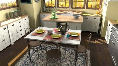 Westchester Kitchen - Eclectic - Kitchen - by lauren_murphy