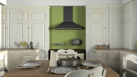Classic Kitchen - Classic - Kitchen - by PomBom