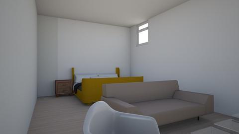 Basement living room v2 - Living room - by garden827