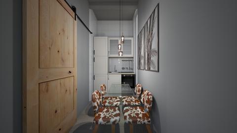 Casa153DiningArea - Retro - Dining room - by nickynunes