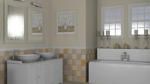 Tan Bathroom - Classic - Bathroom - by reedj0218