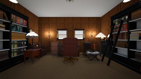 Writers Office - Office - by WestVirginiaRebel