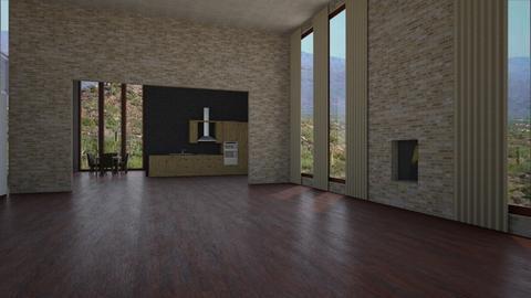 Canyon Walls - Living room - by Sarah Anjuli Gailey