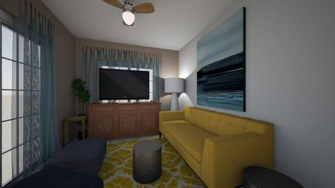 casa balsa - Living room - by domuseinterior