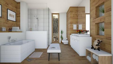 Banheiro - Bathroom - by Sanare Sousa