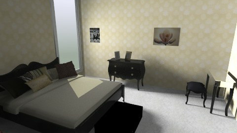 HC Room - Retro - Bedroom - by Mary Passione Arredatrice