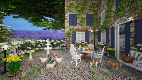 Provence Lavenderfarm - by lydiaenderlebell
