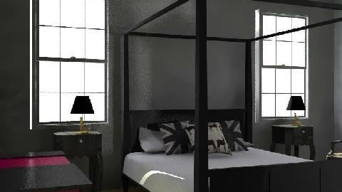ArtHouse - Glamour - Bedroom - by camilla_saurus