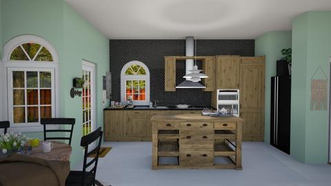 IP Artisan Kitchen - Kitchen - by rosej