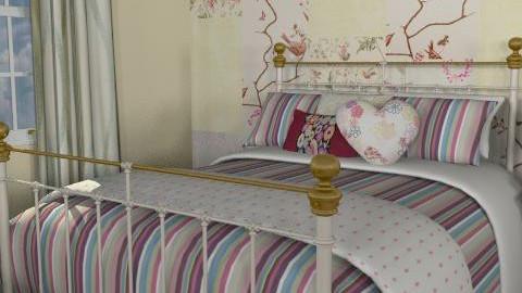 MandS - Rustic - Bedroom - by richardsbm