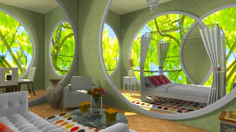 Round room - Eclectic - by wiljun