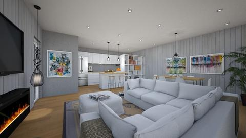 For Abna IV - Eclectic - Living room - by Theadora