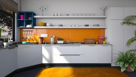 After - Kitchen - by Inna_Inas