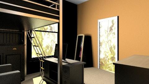 My new room - Bedroom - by SierraL