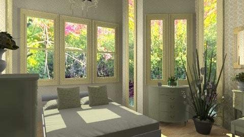 Elegant Master Bedroom - Glamour - Bedroom - by Siti Idrus