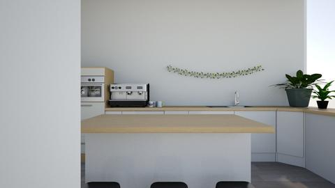 Minimalist Boho Kitchen - Kitchen - by _maciestevens_