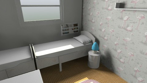 Twins option 7b - Kids room - by gaylefirmin