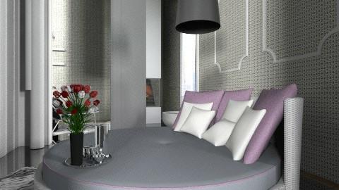 The tiger room  - Modern - Living room - by kitkatrulz01