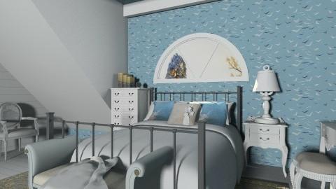 Attic bedroom - Classic - Bedroom - by XValidze