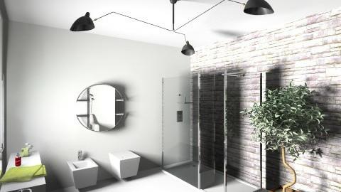bagno blackrock - Bathroom - by ValeGra