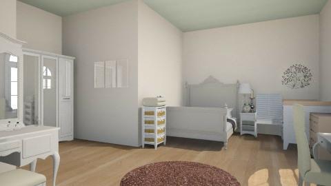 My firt design bedroom - Vintage - Bedroom - by AlisBaron