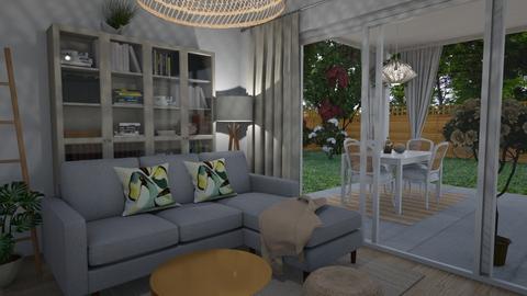 Living room - Feminine - Living room - by Annathea