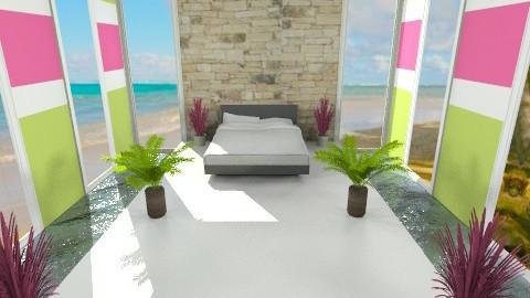 Pool room - Bedroom - by Leigha Kay