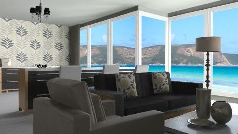 A sea view... - Modern - Kitchen - by lottie21