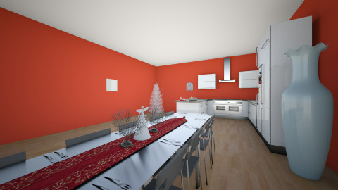 christmas kithen - Minimal - Kitchen - by deleted_1488513744_Vienna Kapty