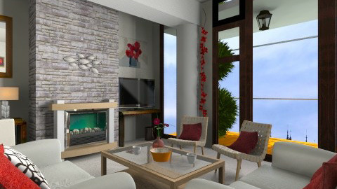 bfhdgb d - Living room - by Inaaaa