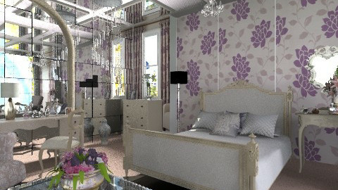 Julie - Glamour - Bedroom - by milyca8
